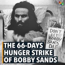 bobby sands hunger strike ile ilgili görsel sonucu